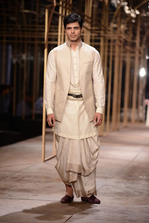 dhoti with jackets