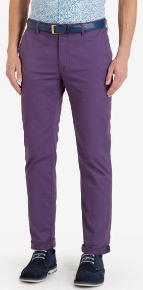 purple chino colour to avoid