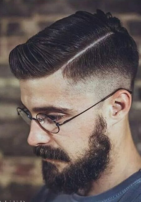 side part fade hairstyles