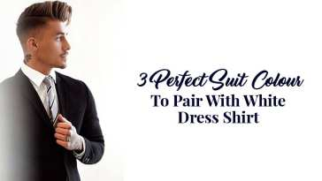 3 Perfect Suit Colour To Pair With White Dress Shirt