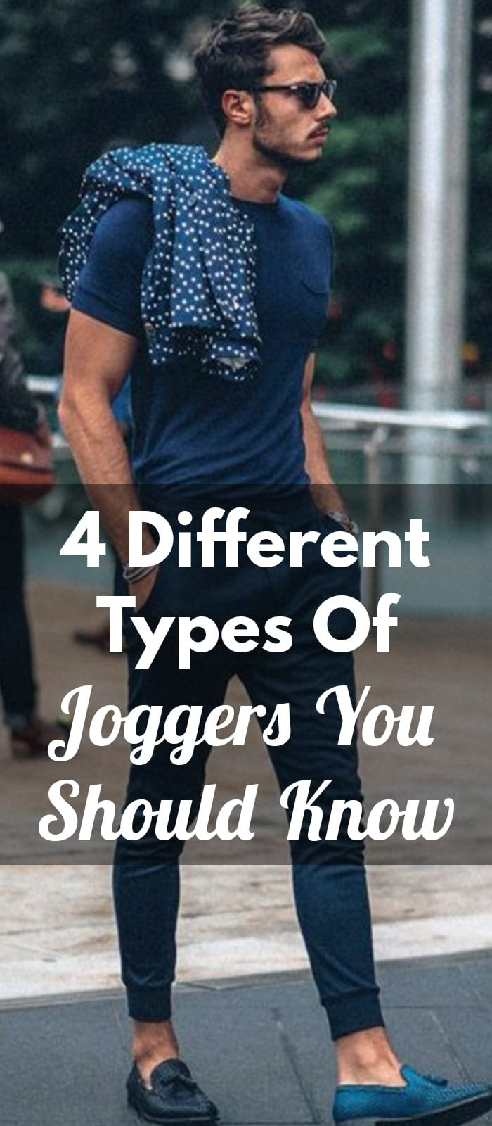 4 Different Types Of Joggers You Should Know