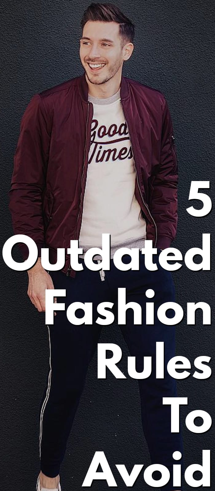5 Outdated Fashion Rules To ignore