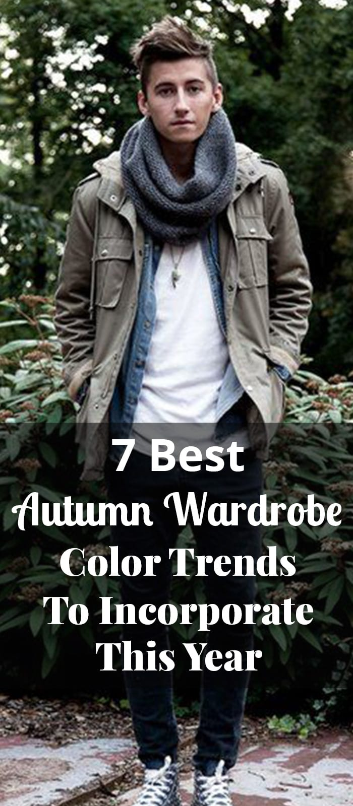 7 Best Autumn Wardrobe Color Trends To Incorporate This Year