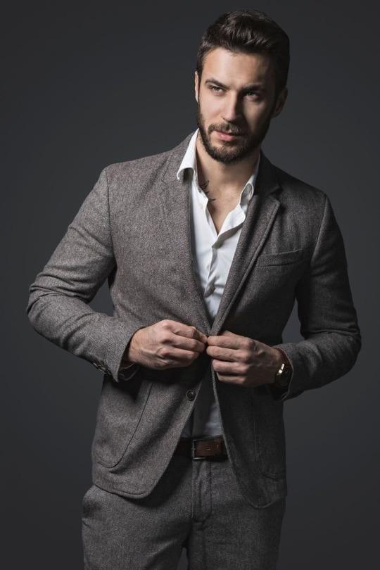 Man Should Dress In 40s