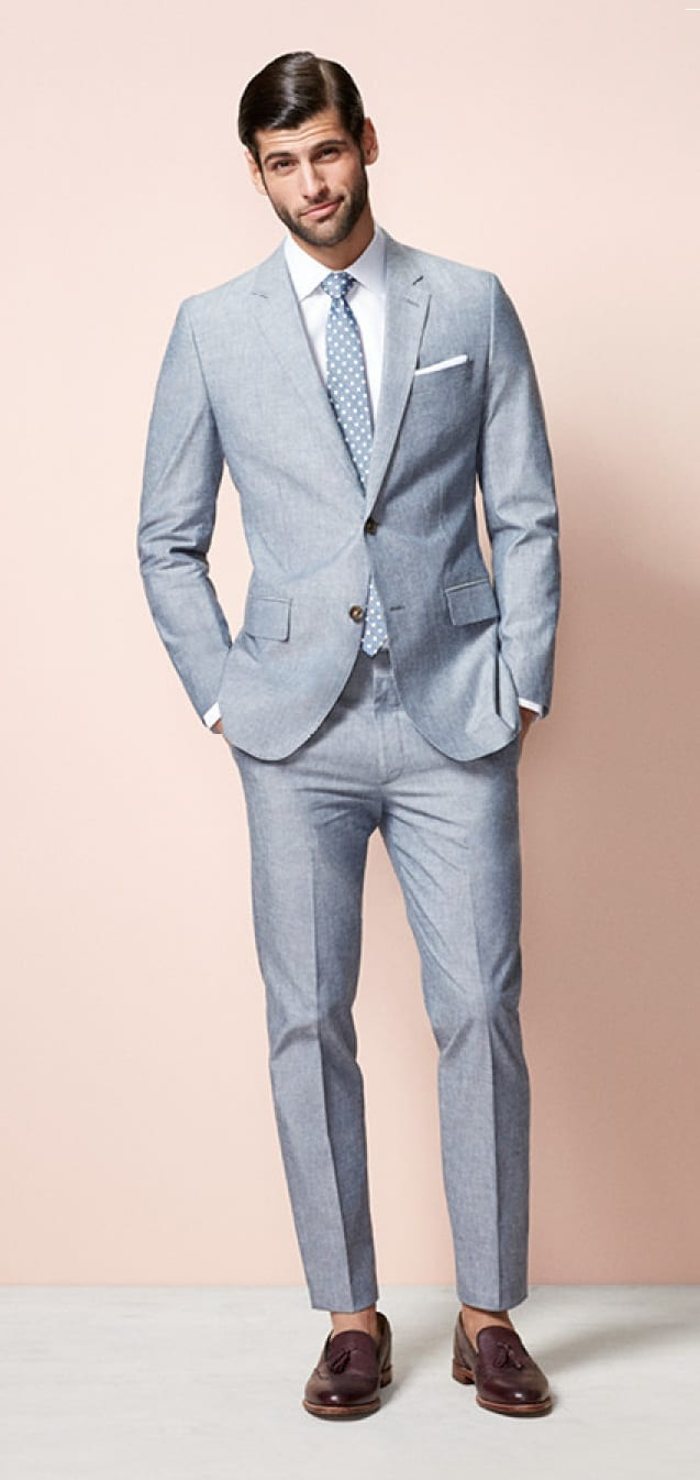 grey suit- outdated fashion Rules