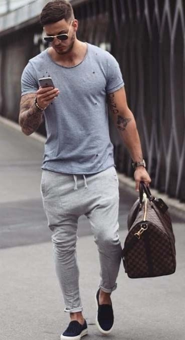 joggers Summer Outfit