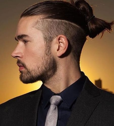 2 Amazing Man Bun Fade Hairstyles For The Bold Men To Try