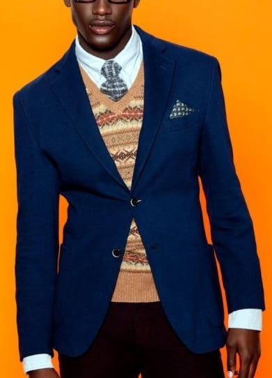 navy blue outfit-dark skin tone men style guide
