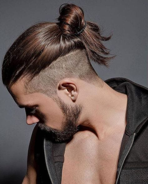 undercut top knot hairstyles