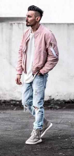 Pink Outfit Men - jackets