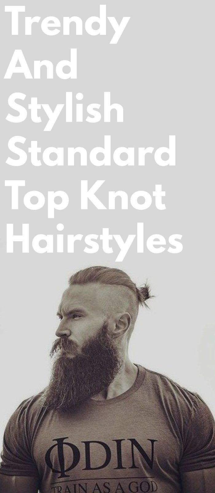 Trendy And Stylish Standard Top Knot Hairstyles
