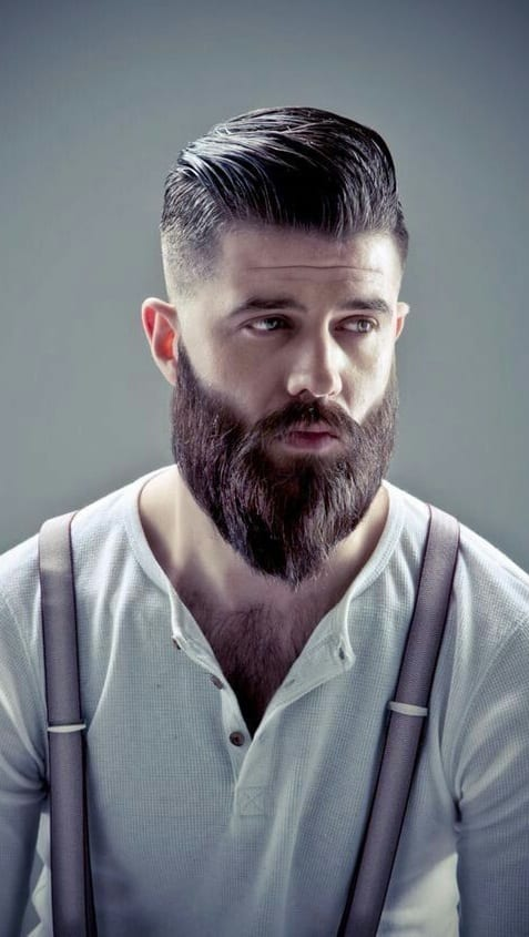 beard styles- ducktail beard