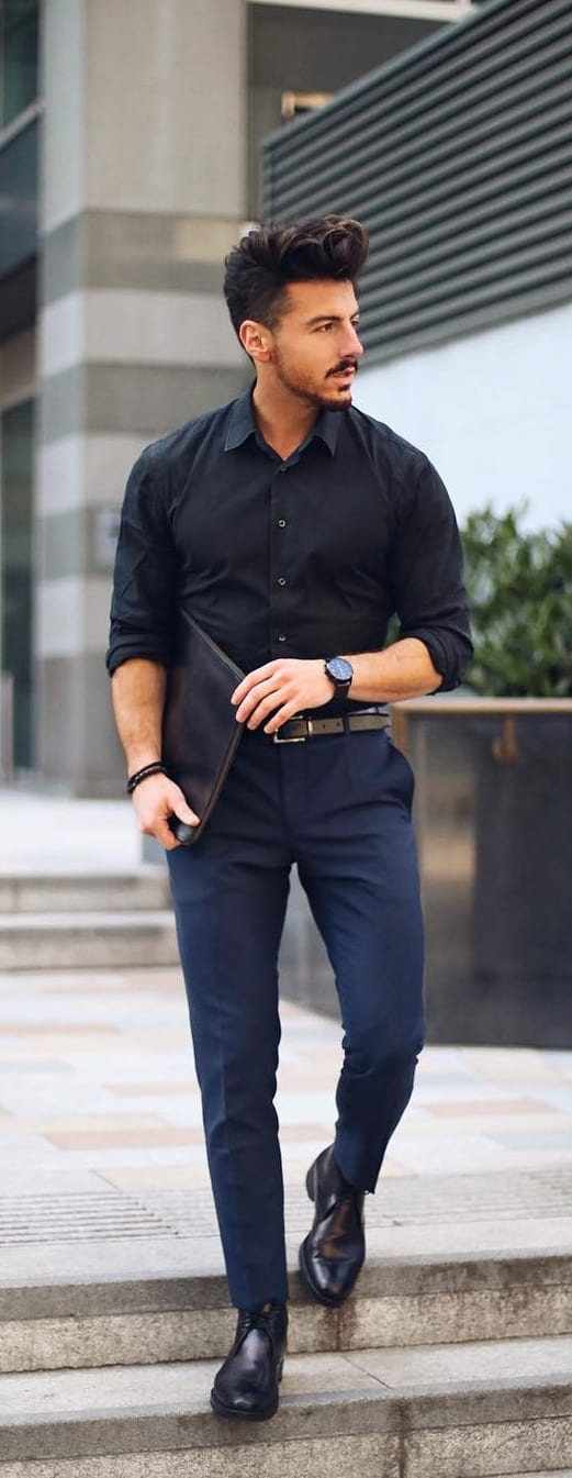 men's business casual style guide