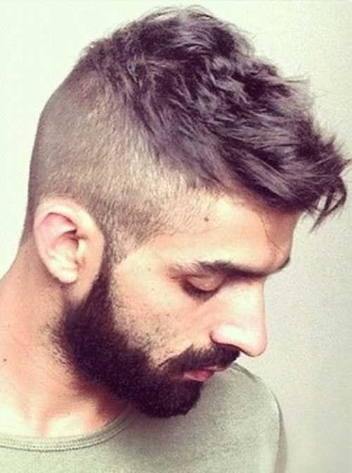 side shave spikes with beard
