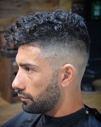2 Combinations For Men To Try With The Curly Undercut Hairstyle