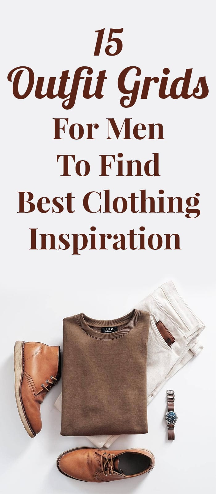 8f71fe3647 15 Reasons Why Men Should Refer Outfit Grids For Styling