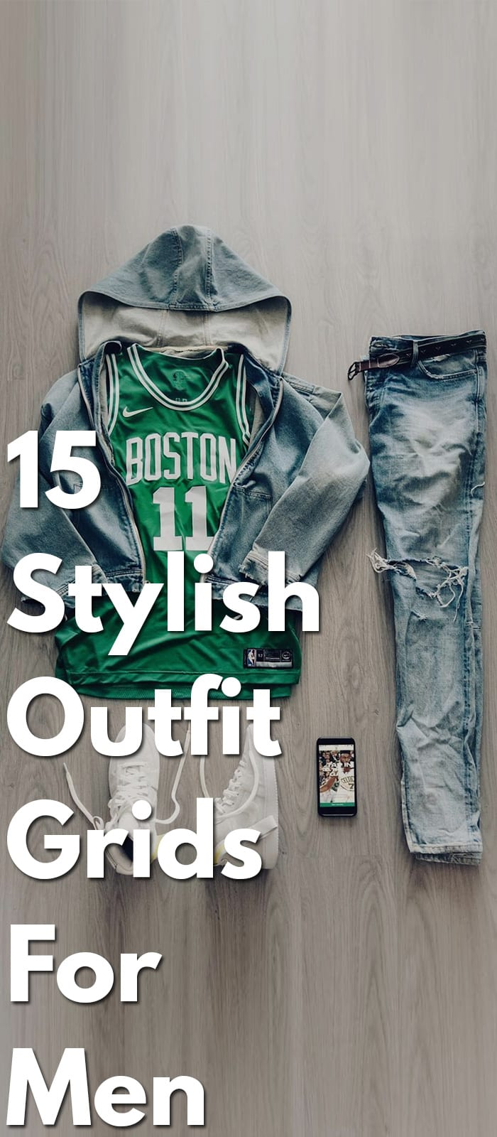 94096e713b stylish outfit grid for guys. Picture Credits. Fashionable Outfit ...