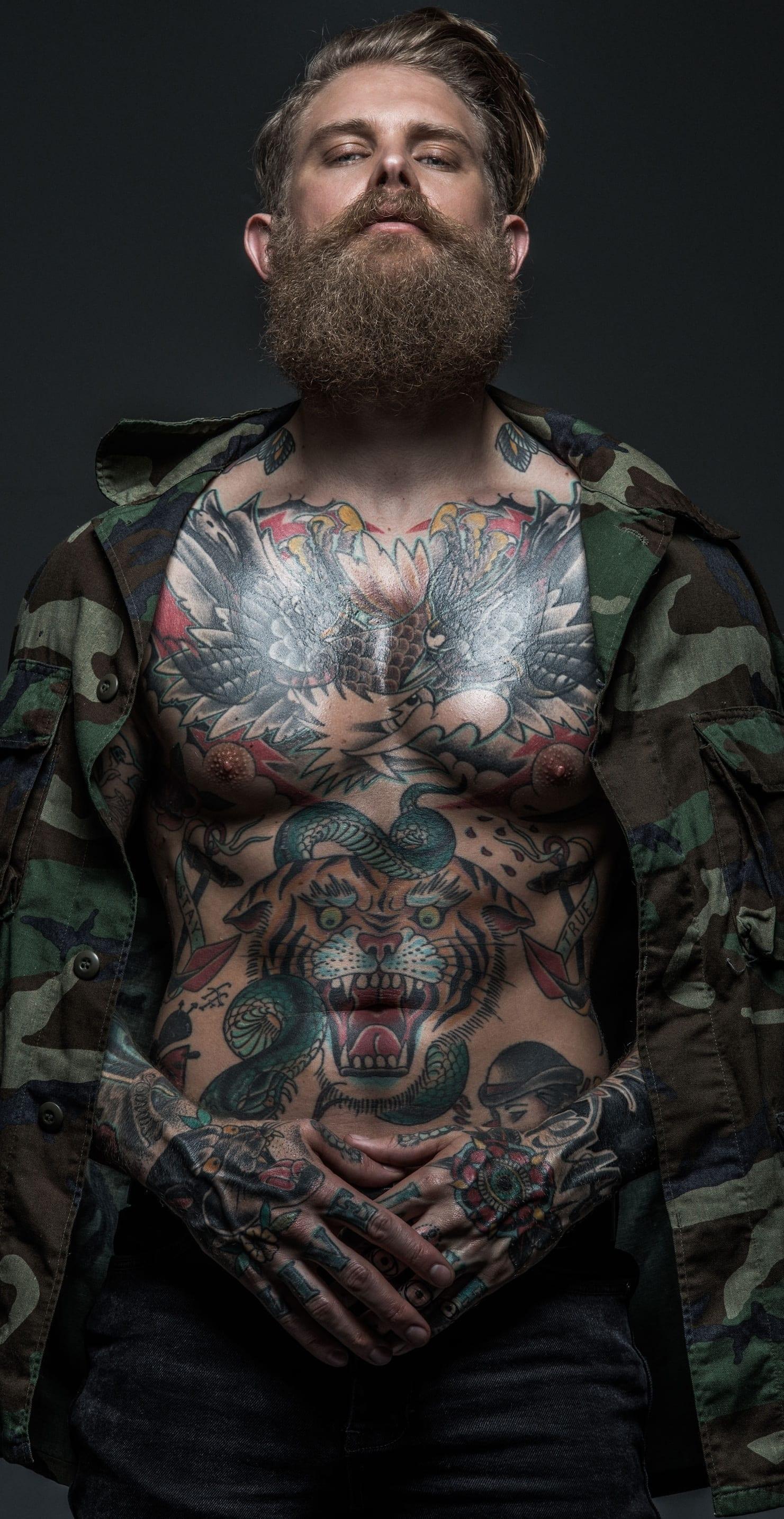 Josh Mario John tattoo