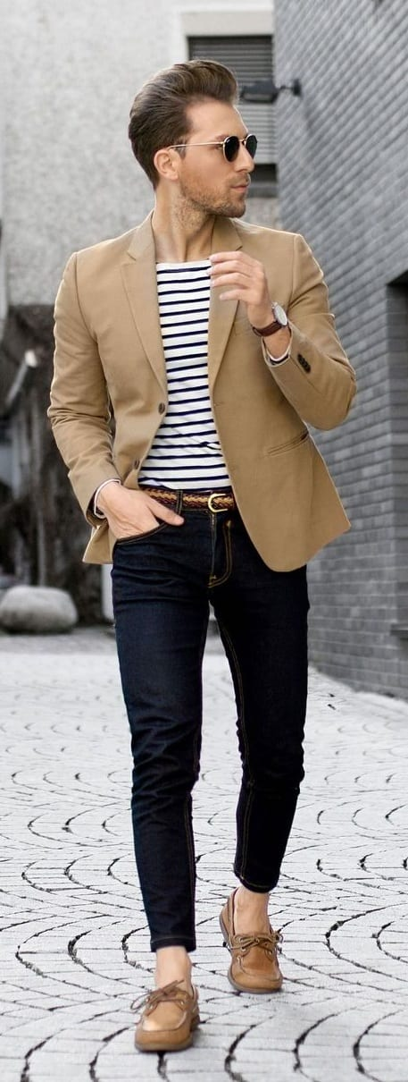 Men's Preppy Style- boat shoes
