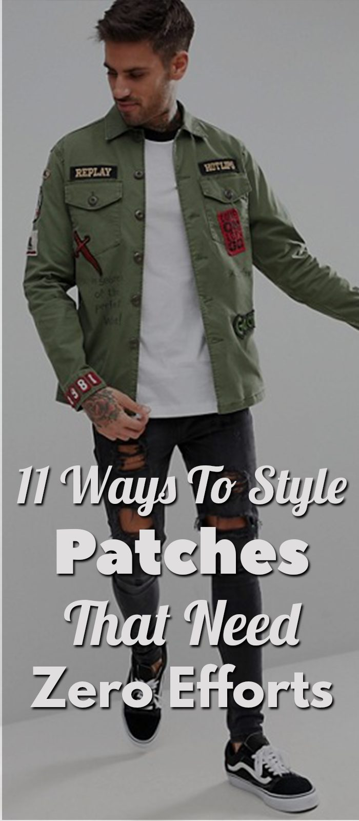 11 Simple Hacks To Style Patches