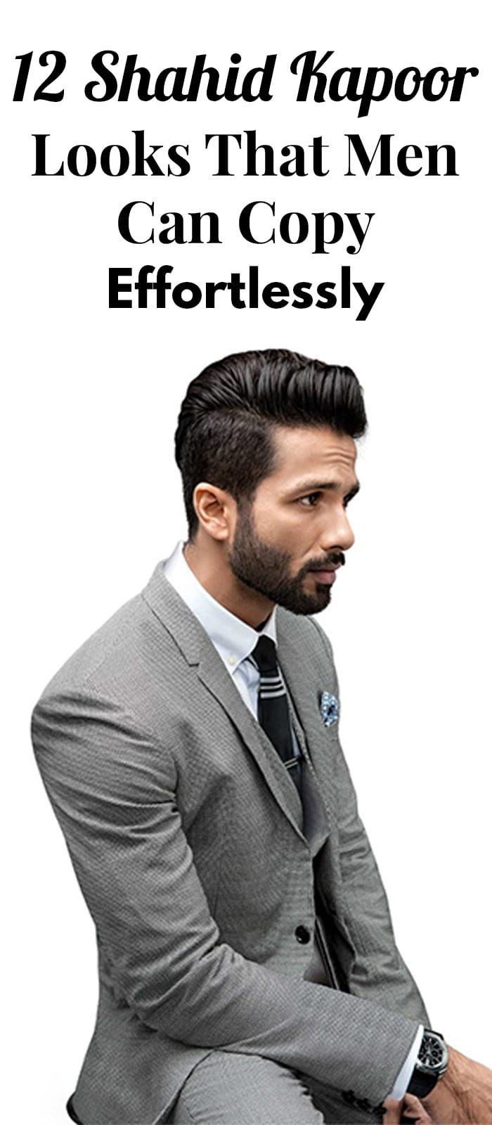 12 Shahid Kapoor Looks For Men To Style Like A Gentlemen