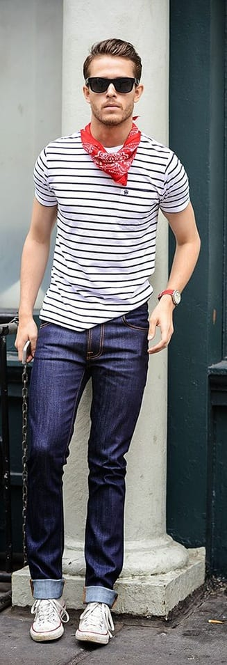 Bandana fashion for men