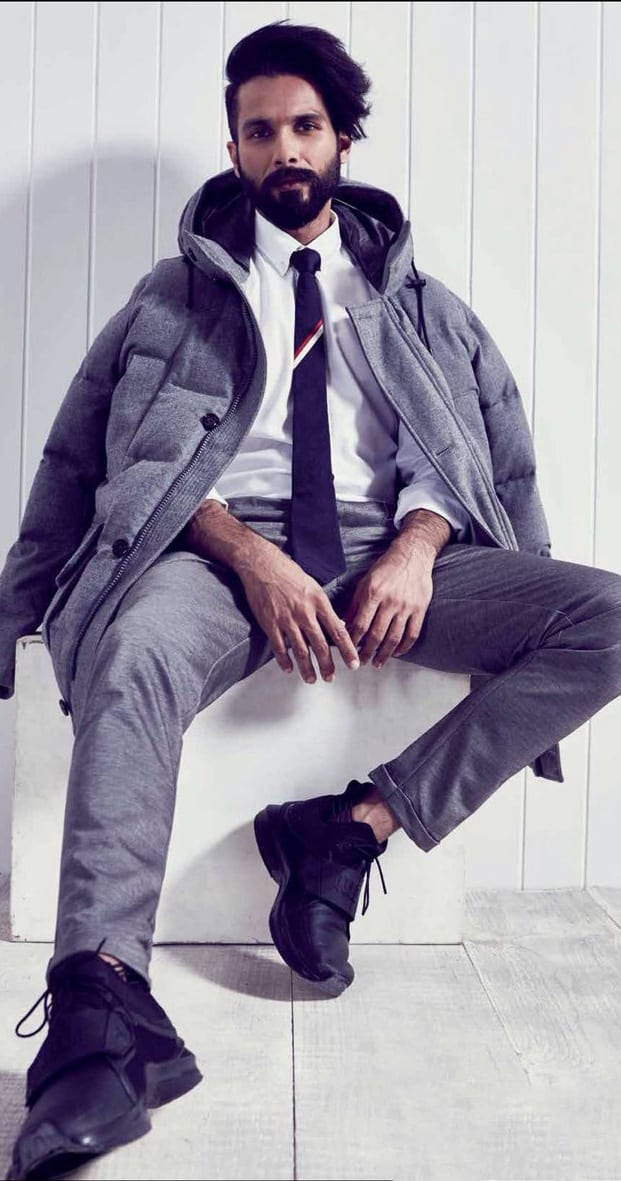 Shahid Kapoor fashion styling