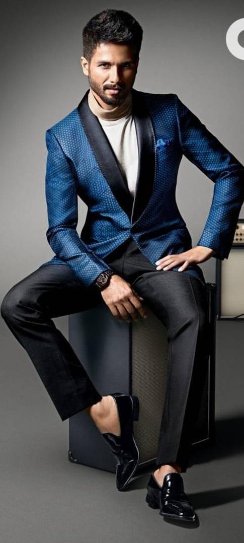 Shahid Kapoor formal style