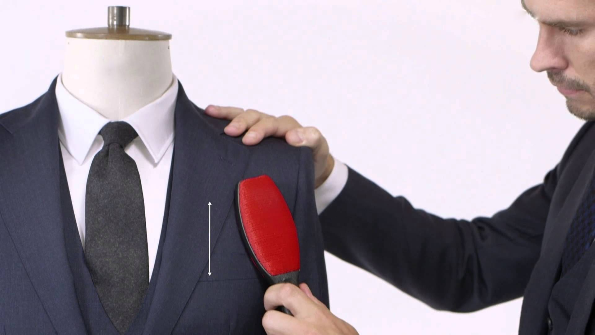 Suit Cleaning Hack Using Suit Brush