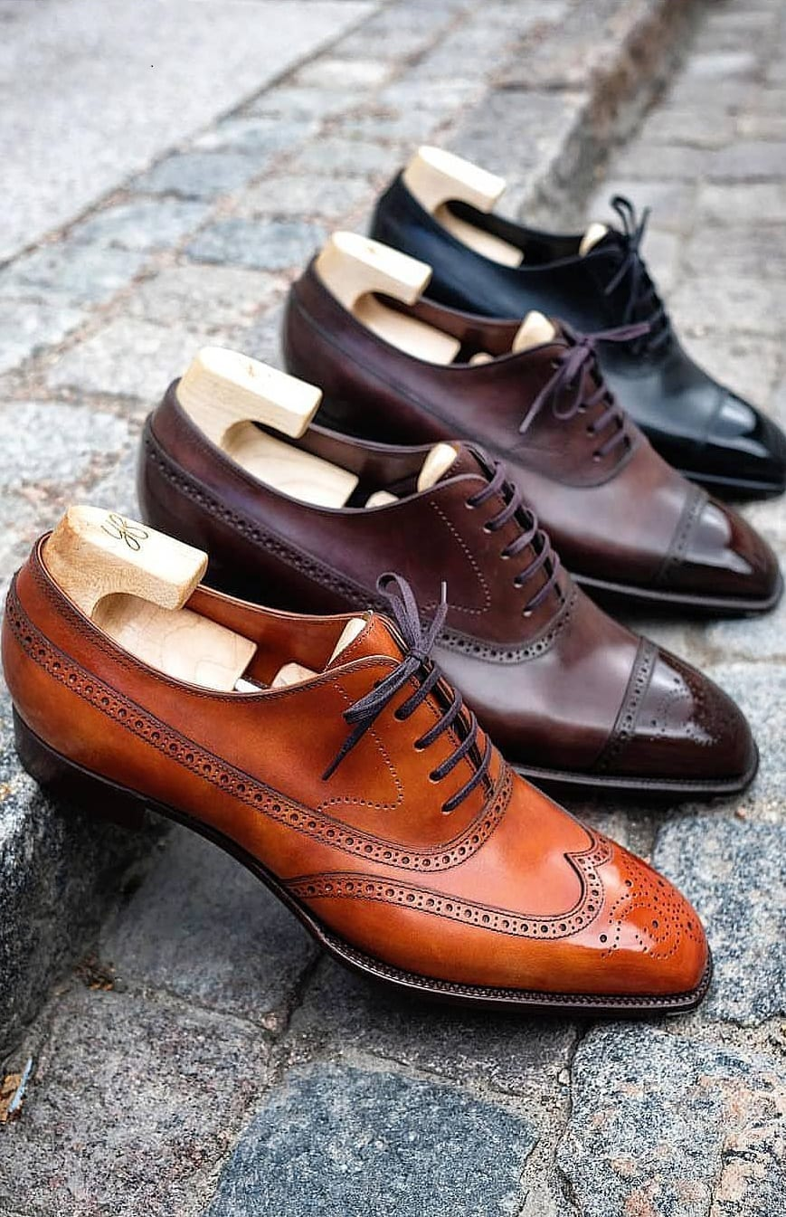 Things Men Should Own - Dress Shoes