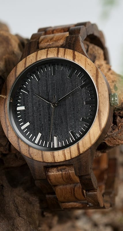 Wooden Watch For Mens