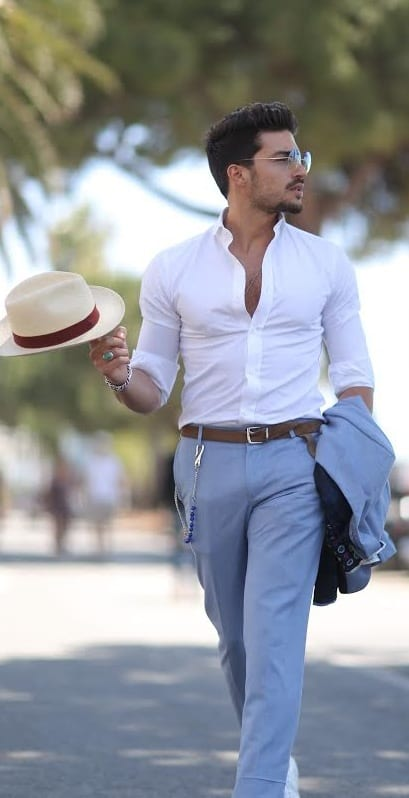 mariano di vaio white shirt look