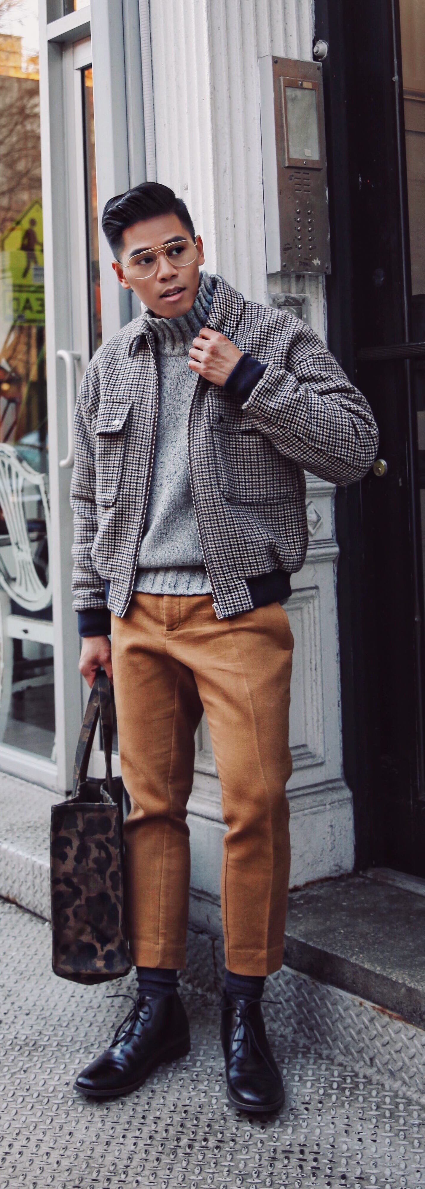 Fashionable American Casual Outfit For Men