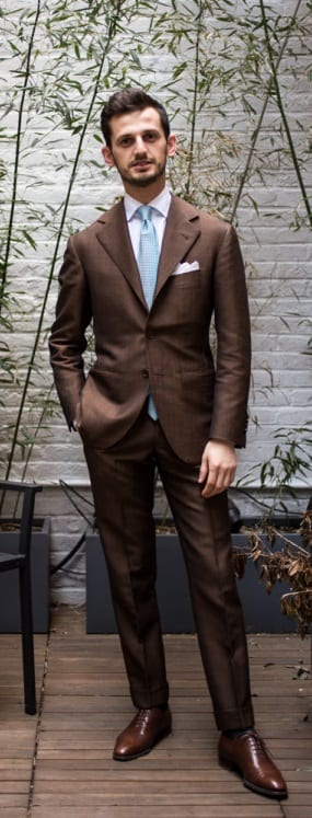 Simple Tailored Suit For Men