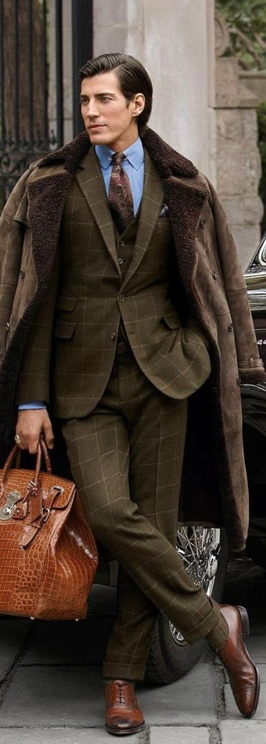 Sophisticated Tailored Suit For Men