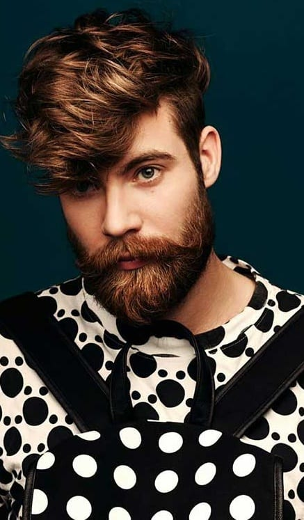 Stylish Beard And Hairstyle Combinations For Men