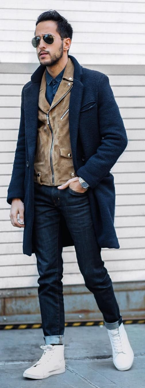 15 Coat Outfit Ideas For Men