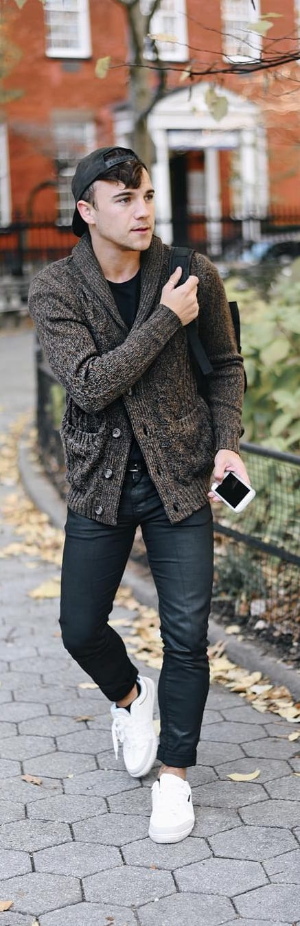 Amazing Cardigan Outfit Ideas For Men