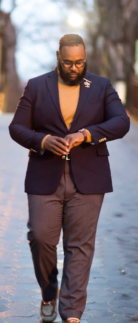 Business Casual Outfit Ideas For Fat Men