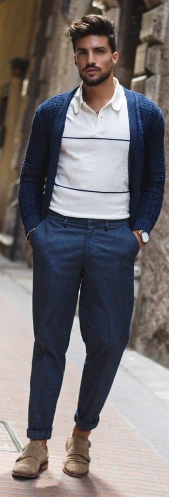 Casual Cardigan Outfit Ideas For Men