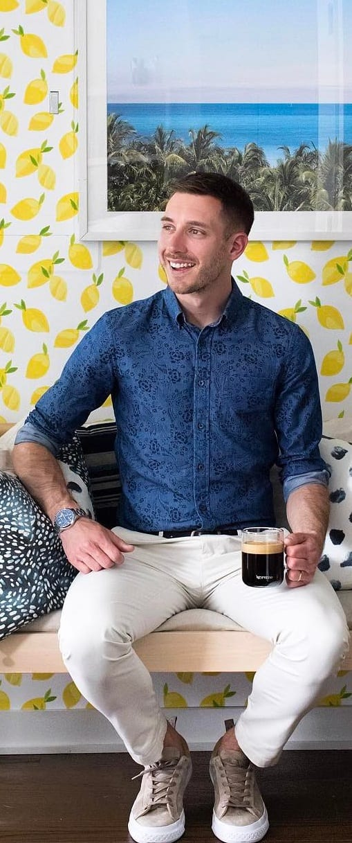 Classy Printed Shirt Outfit Ideas For Men