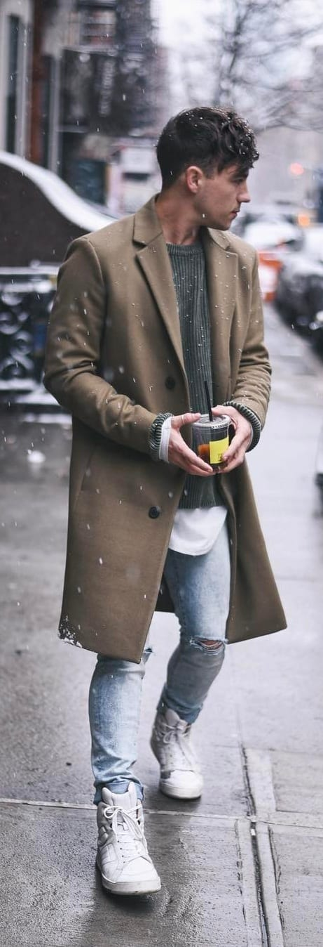 Coat Outfit Ideas For Men