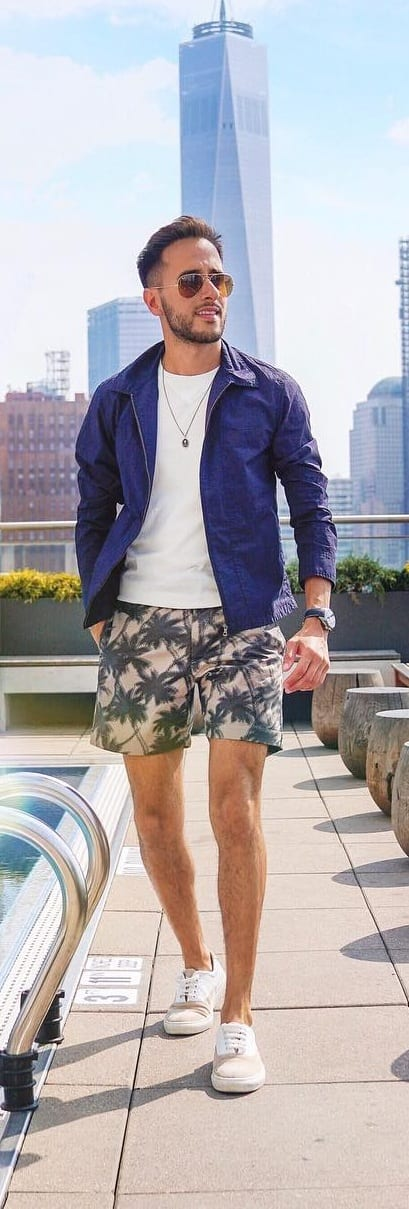 Holiday Casual Outfit For Men