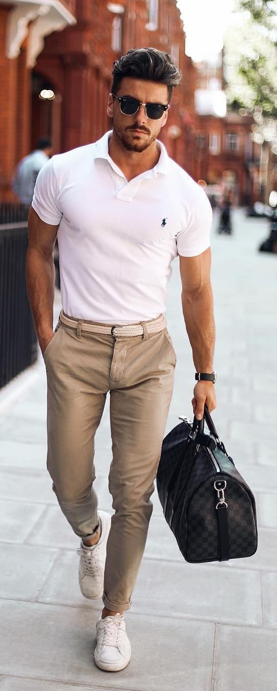 Simple Modern Workwear For Men