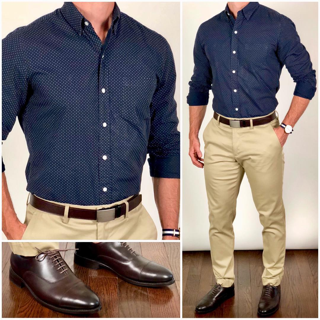Simple Semi Formal Outfit Ideas For Men