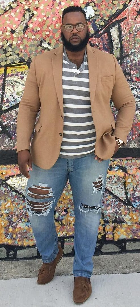 Street Style Outfit Ideas For Fat Men