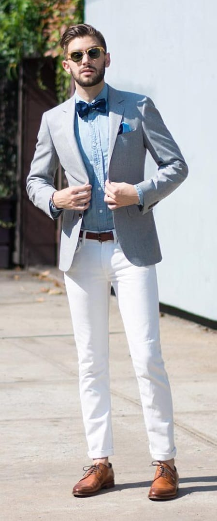 Stunning Suit Combination Ideas For Men