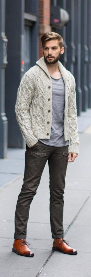 Stylish Cardigan Outfit Ideas For Men