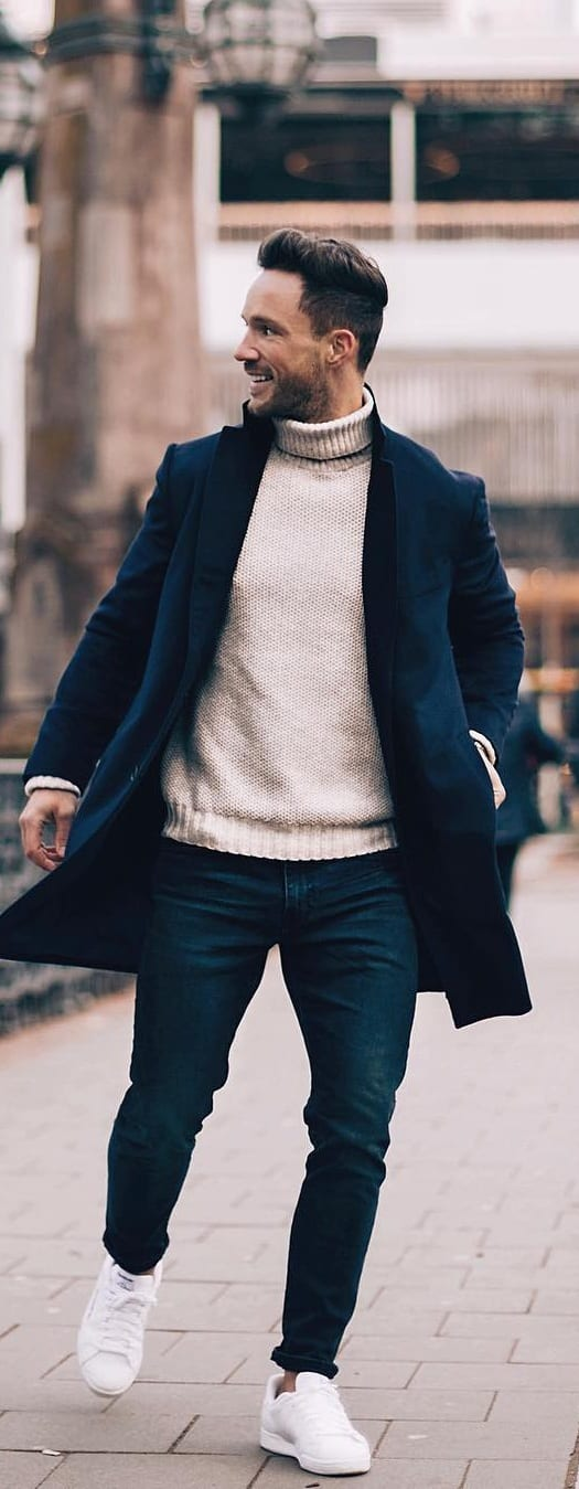 Stylish Coat Outfit Ideas For Men