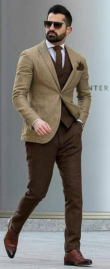 Stylish Suit Combination Ideas For Men